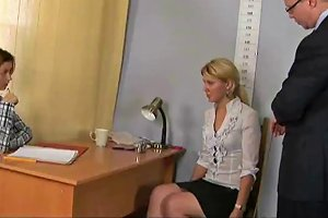 Young Blonde Babe And Her Nude Quot Job Quot Interview